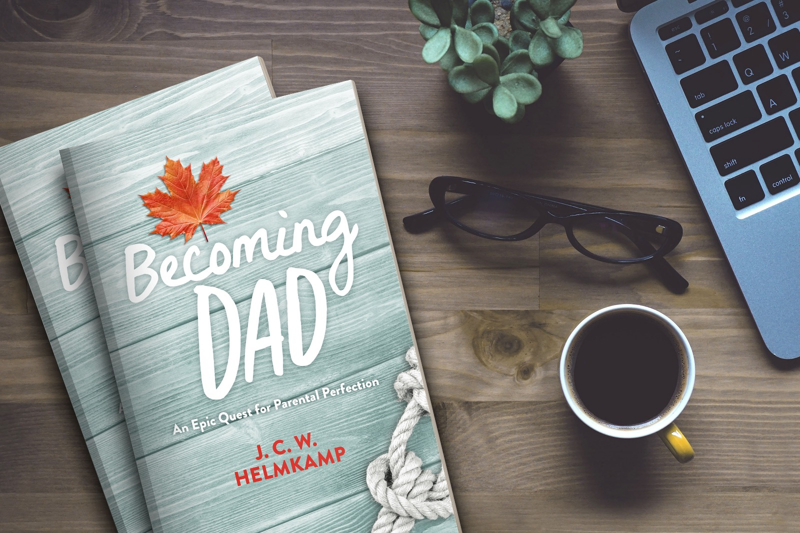 Cover Reveal: 'Becoming Dad' by J.C.W. Helmkamp 2