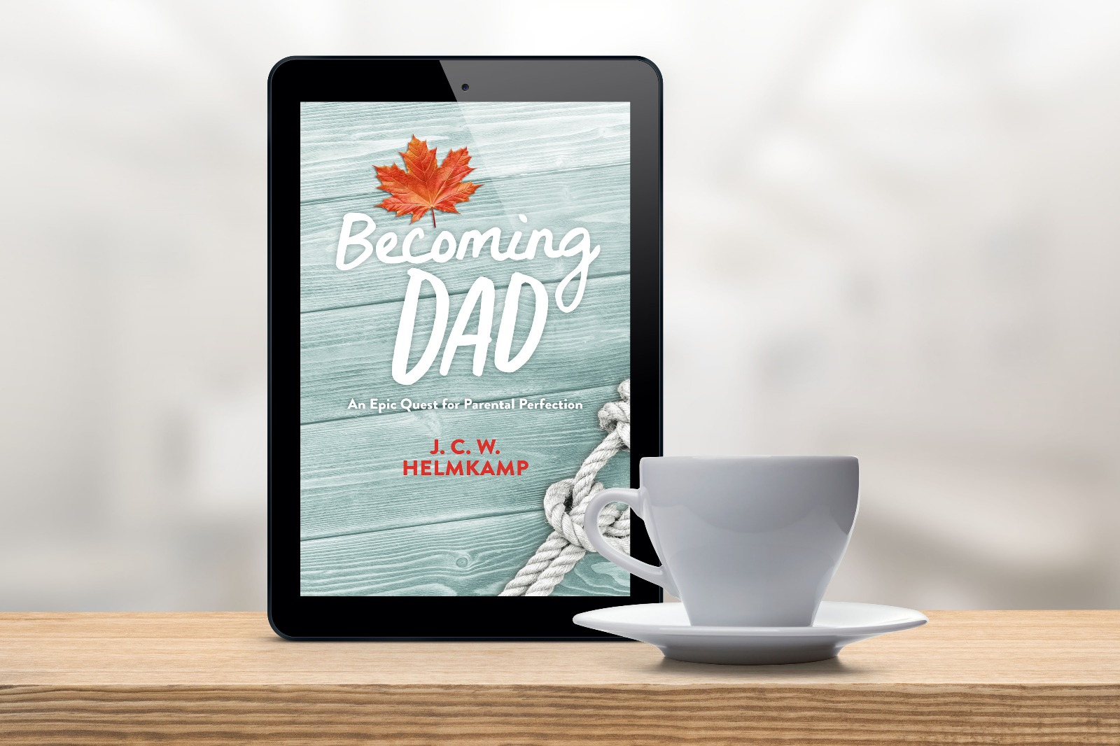 Cover Reveal: 'Becoming Dad' by J.C.W. Helmkamp 3